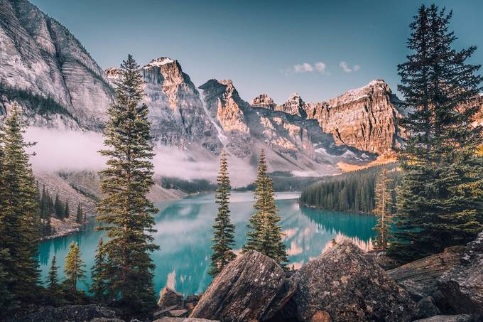 Lake Moraine by leireunzueta - World Expeditions Photo Contest