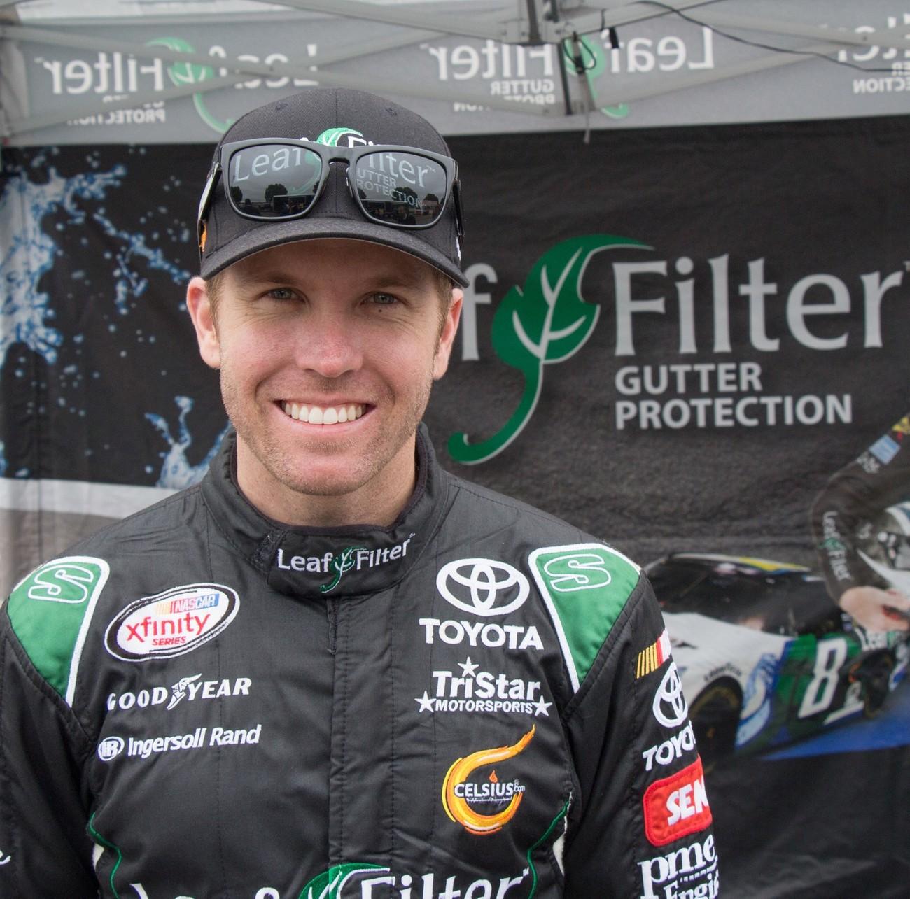 Blake Koch, a driver to keep an eye on.