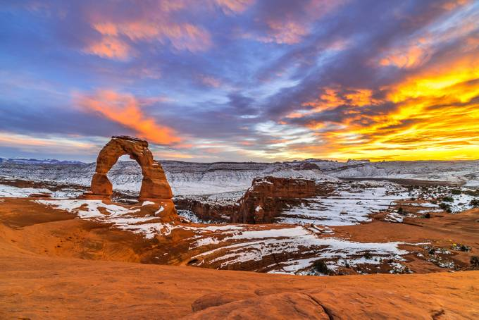 Small- Arches National Park by kylekephart - HDR Landscapes Photo Contest