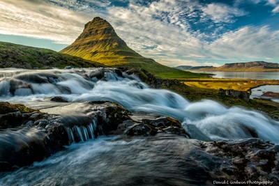 Sunset at Kirkjufell Mountain
