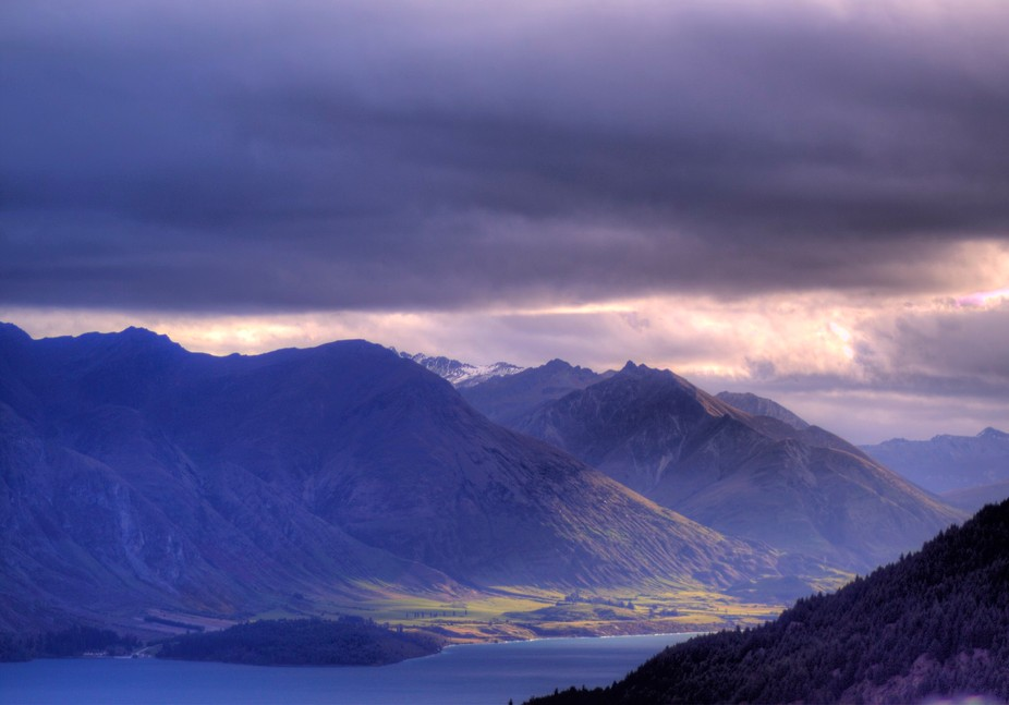 Taken from a very busy location within the Remarkables Range in the South Isaland of New Zealand,...