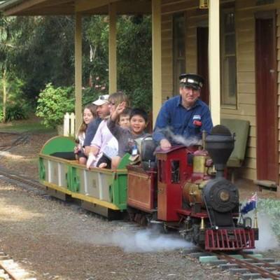 Miniature Railway - Steam train