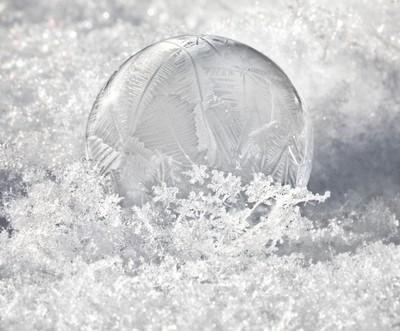 Frozen Soap Bubble II