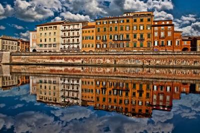 Pisa reflections