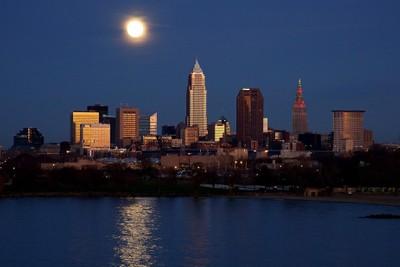 Cleveland At SunSet.