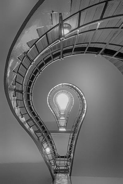 Lightbulb Stairwell