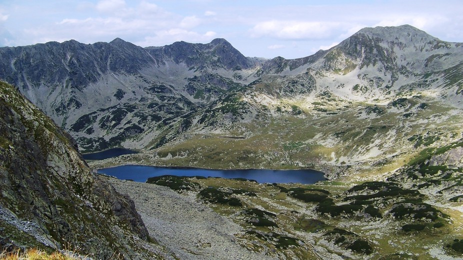 Bucura lake is a glaciar lake at Retezat National reservation in Romania . It is located at an al...
