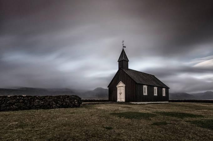 Black Church of Budir 2 by madspeteriversen