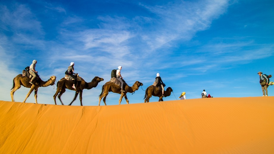 at Merzouga a wonderful place for chilling