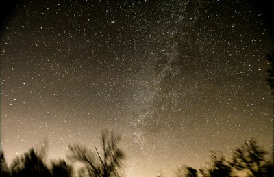 Milky Way with Andromeda