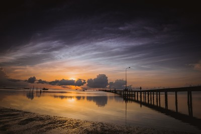 Peaceful Sunrise at Phu Quoc island