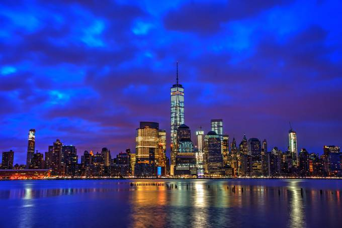 Sleepless City by F8user - Modern Cities Photo Contest