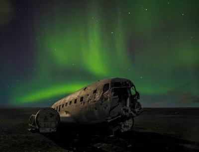 061sPlane wreck Iceland