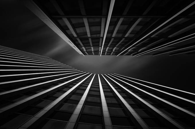 Zagreb skyscraper II by bruno001 - Diagonals And Composition Photo Contest
