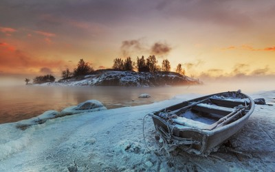 The Steaming Baltic Sea