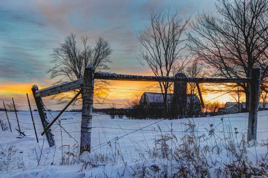 Sunset December 28, 2015