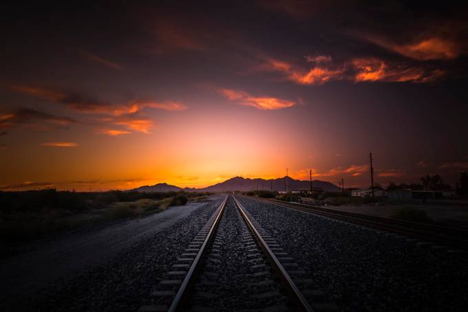 Happy Endings by HooverTung - Empty Railways Photo Contest