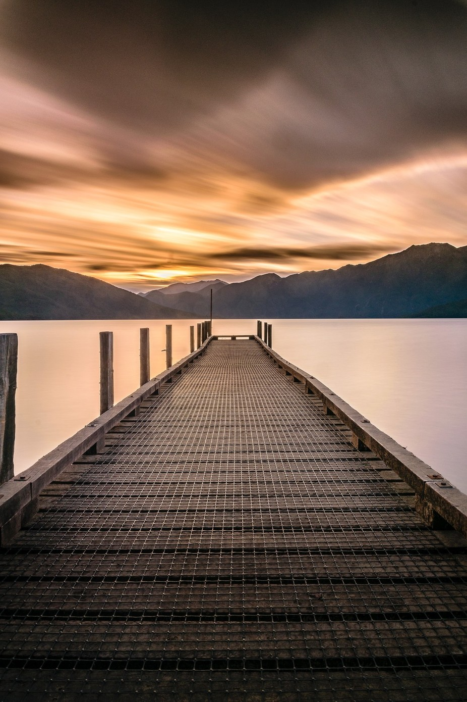 Evening by the lake by Matt_corb - Clouds In Movement Photo Contest