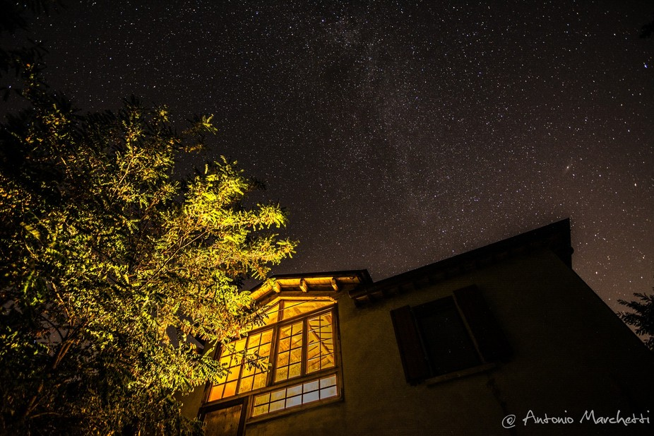 This shot was taken at a friend's property in the mountains around Forlì, Emilia Romagna, Italy.