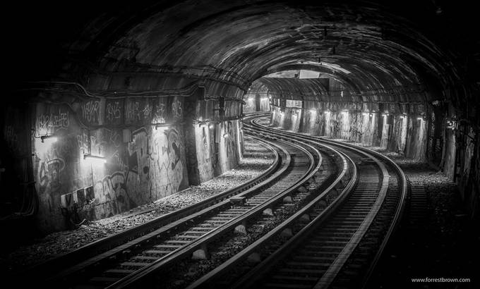 Paris Subway by Forrest_Brown - Empty Railways Photo Contest