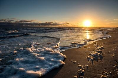 Frothy Beach