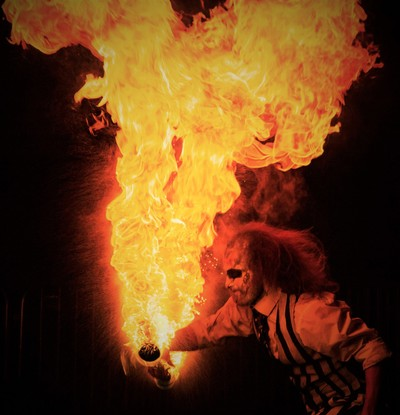 fire eater display