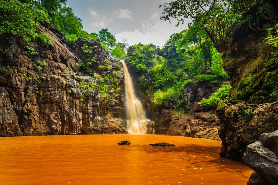 Ninai Falls has tremendous beauty around it. It is situated in Dediapada's beautiful for...
