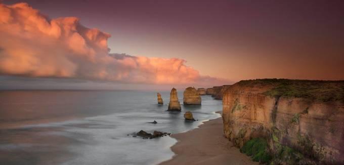 Pastel Sunrise by NatashaHaggard - Discover Oceania Photo Contest
