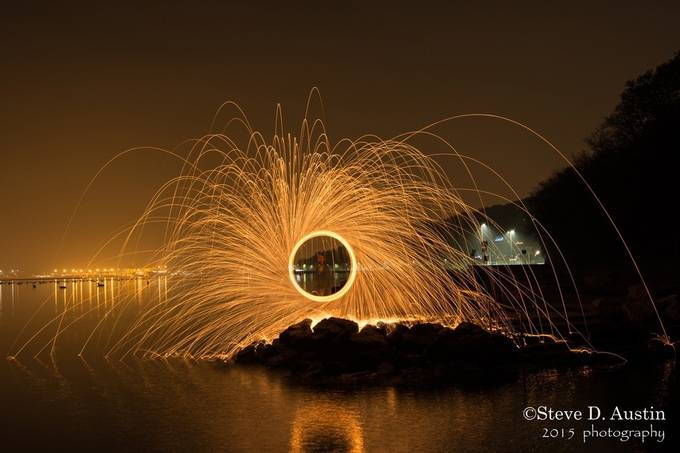 Steel Wool Spinning by SteveUKIT