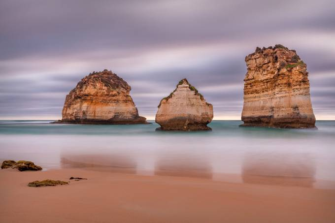 The Cove Triplets  by TrevJel - Long Exposure Views Photo Contest