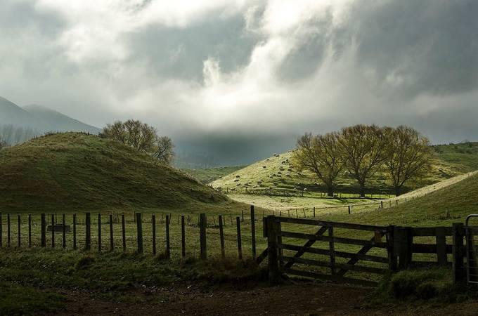 Rolling Hills of New Zealand by sethcarper - Rule Of Seconds Photo Contest vol1