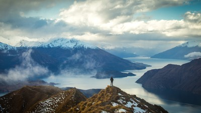 Roy's Peak Track / New Zealand