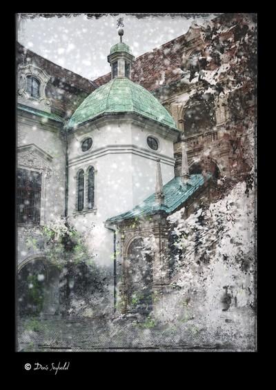Snowfall in Graz