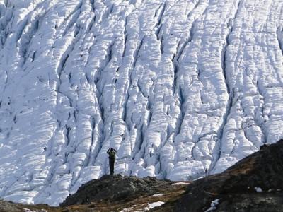 Harding Ice field Alaska
