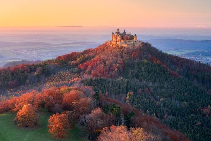 Autumn Fairytale by Daniel-Photography - Enchanted Castles Photo Contest