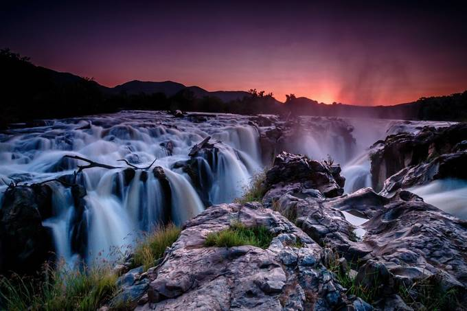 Epupa Falls, Namibia by charlielynam - Long Exposure Views Photo Contest