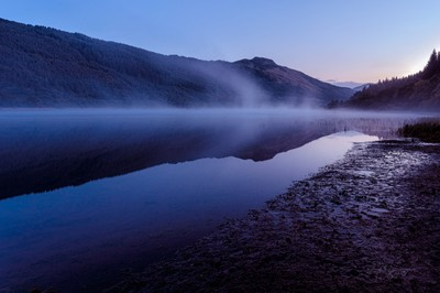Loch Lubnaig, Strathyre, Scotland.
