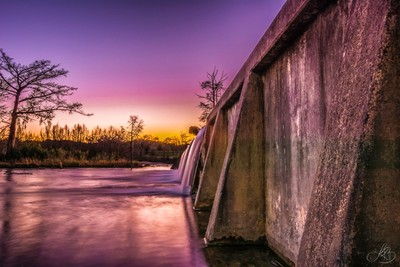 Sunset at the Dam