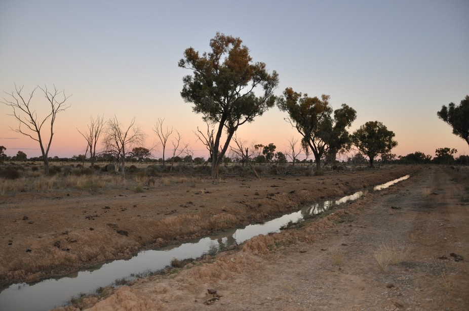a winters day in outback Queensland