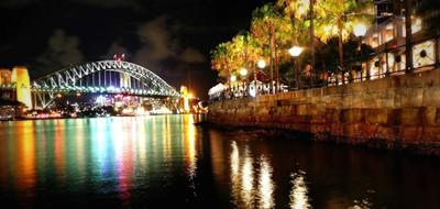 Circular Quay Night