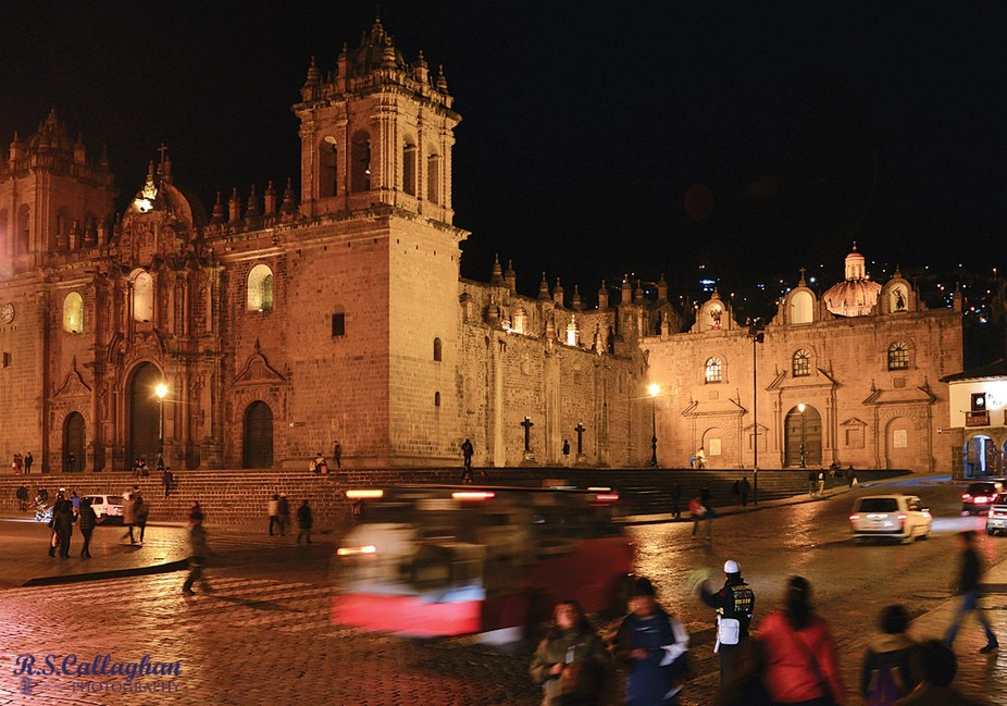 Be careful crossing any street in Cusco, because the pedestrians DO NOT have the right of way.