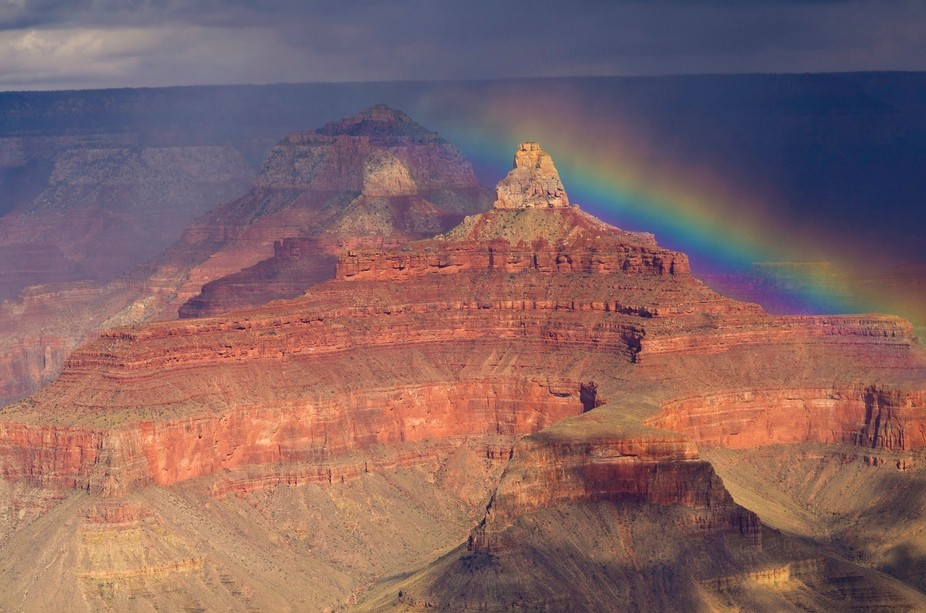 Grand Canyon and Rainbow