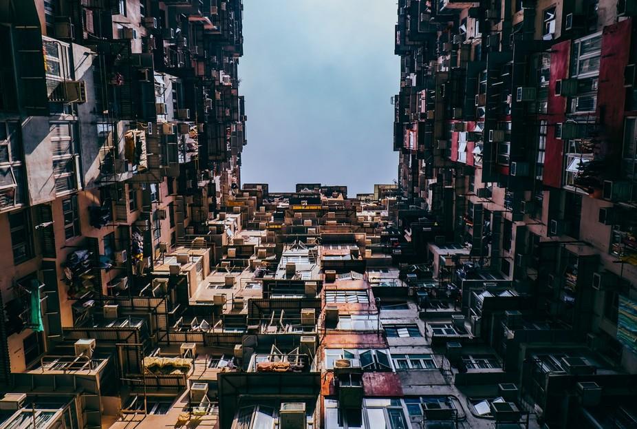 Hong Kong Tin Hao residential area