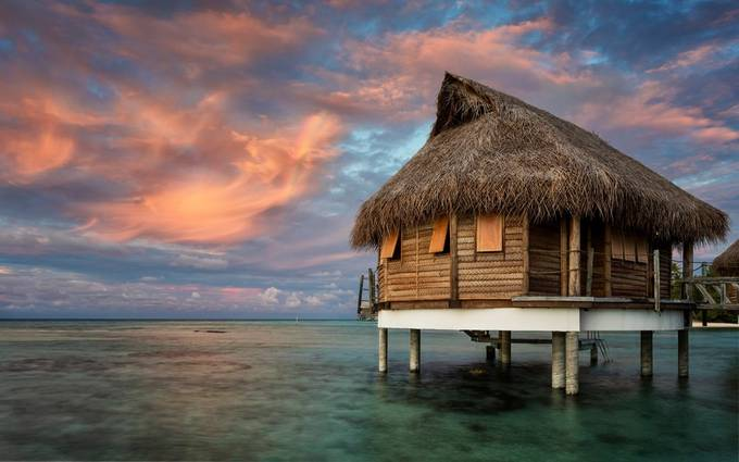 Bungalow 7 by TrueNorthImages - Around the World Photo Contest