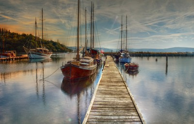 I am sailing (home again)