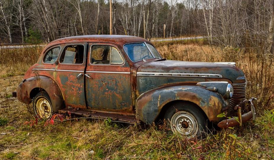 rusted car-2
