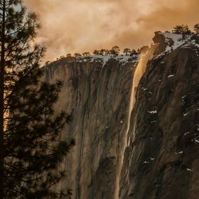 """Icy Mist On The Falls""  After three days in the valley and out of about 200 shots I got this photograph.  The spectacular natural phen..."