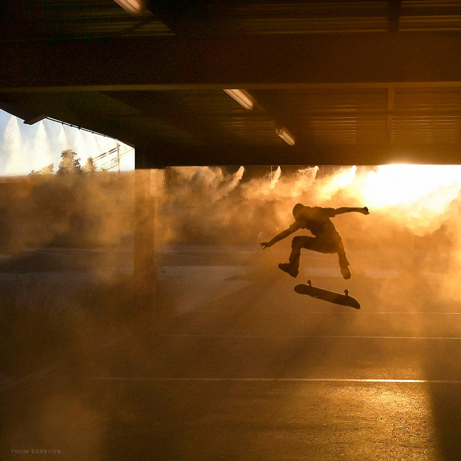Under the Misters by thombarbour - Levitation Art Photo Contest