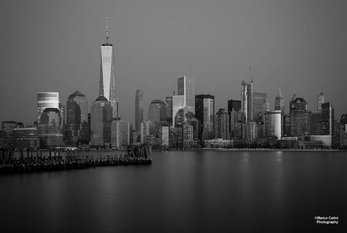 From Across The River by catini - Black And White Architecture Photo Contest