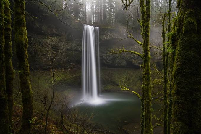 This is South Falls by chrisgiordano - Divine Forests Photo Contest